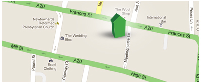 Peter Rogers Estate Agents location map
