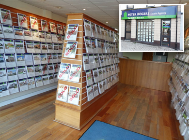 Peter Rogers Estate Agents office